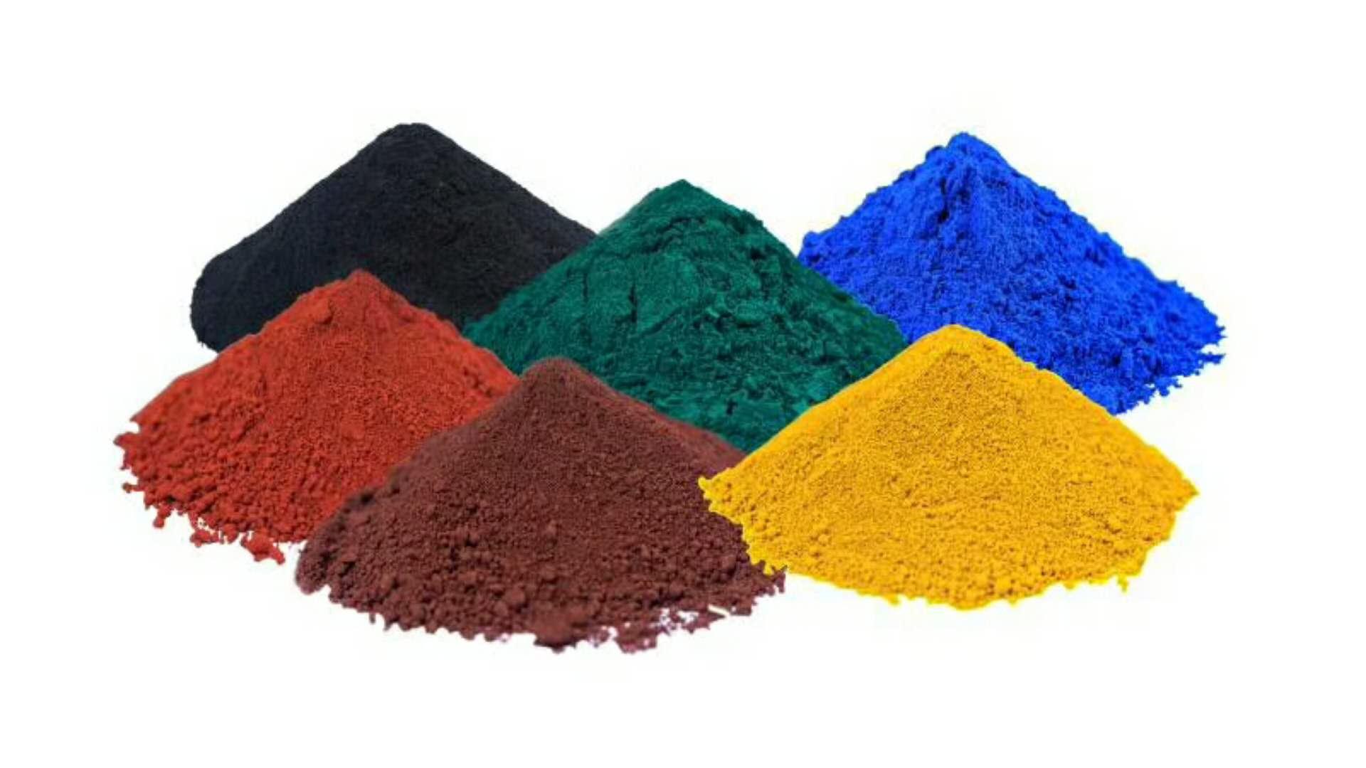 沥青专用色粉